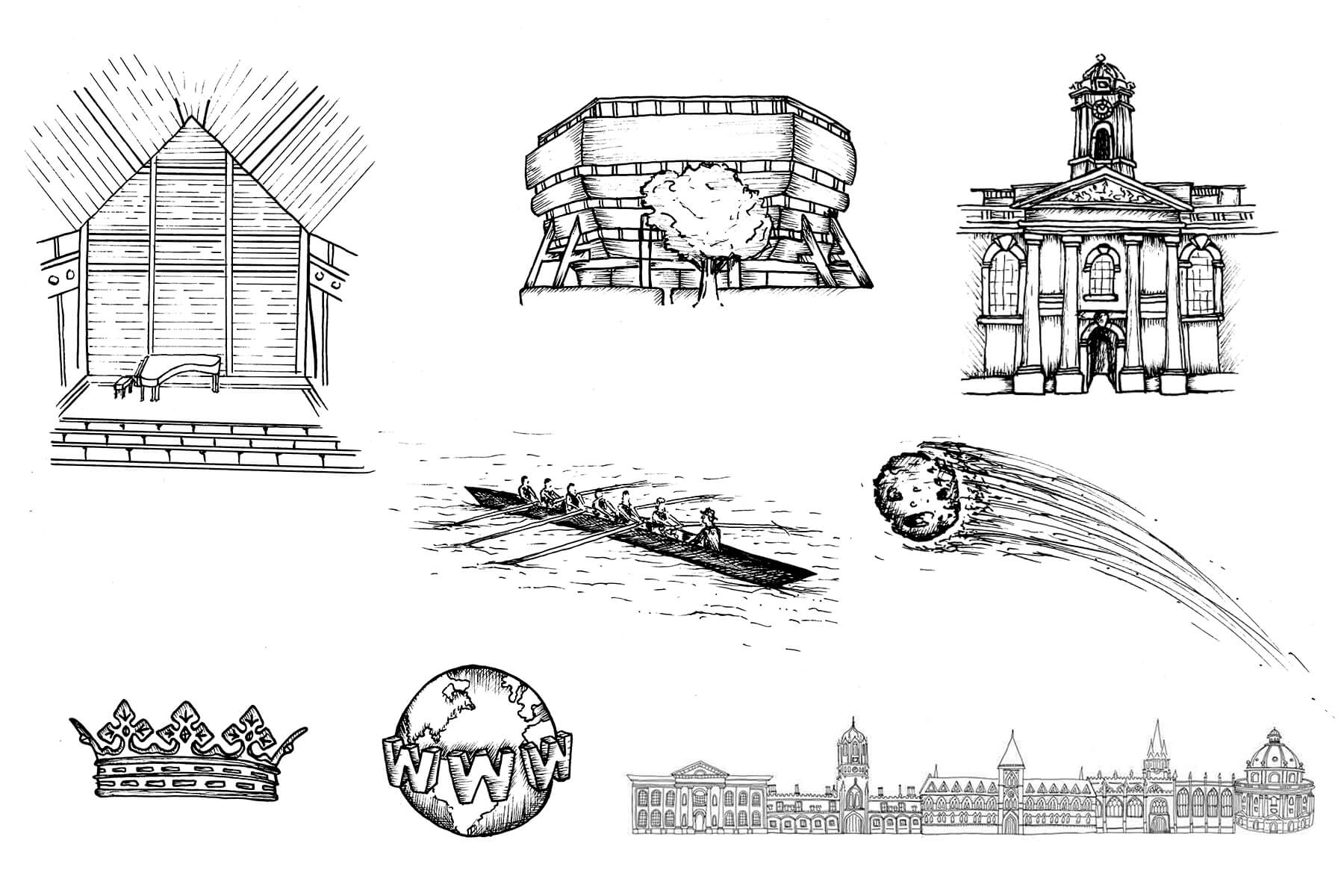 University of Oxford Drawings